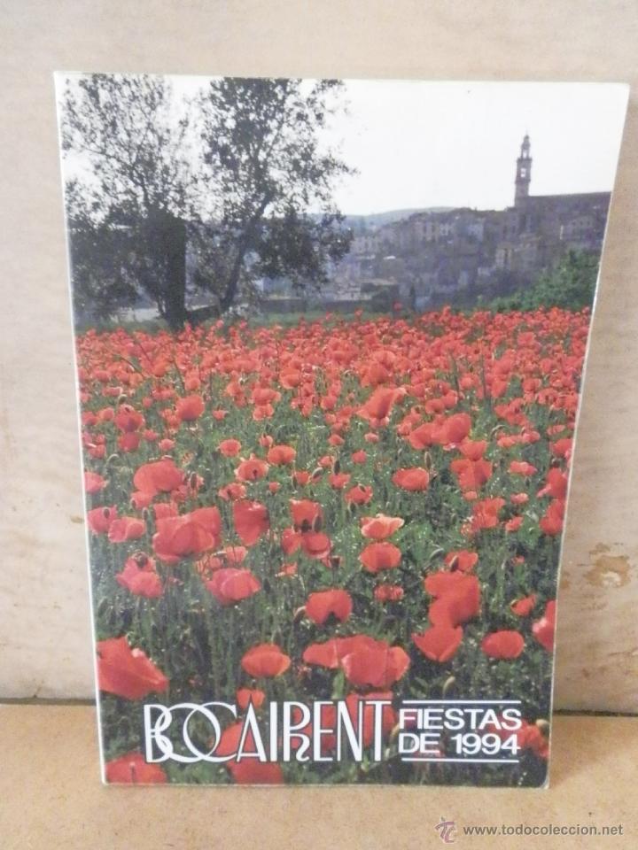 BOCAIRENTE - 1994- LIBRO DE FIESTAS - VER FOTOS - BOCAIRENT (Coleccionismo - Folletos de Turismo)