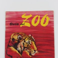 Folletos de turismo: PR-119. GUIA DEL ZOO. BARCELONA. EDITADO POR M. CAMPS-MASICH. BARCELONA, 1959. 1ª EDICION. Lote 45170270