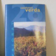 Folletos de turismo: LA VANGUARDIA CATALUNYA VERDA NUMERO 26 --REFM1E4. Lote 45183012