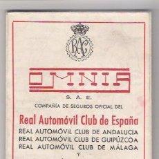 Folletos de turismo: GUIA DE CARRETERAS 1946 DEL REAL AUTOMOVIL CLUD DE ESPAÑA. Lote 45513097