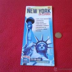 Folletos de turismo: FOLLETO TURISTICO TOUR AMERICA NUEVA YORK EN ESPAÑOL. TURISMO PROCEDENTE DE LA CIUDAD DE NEW YORK. Lote 46236719