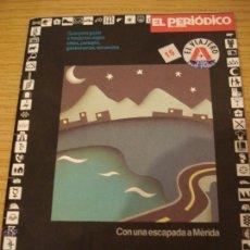 Folletos de turismo: PORTUGAL. GUIA EL VIAJERO #15. EL PERIODICO DE CATALUNYA. ===ENVIO GRATUITO===. Lote 46389996