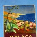 Folletos de turismo: PRECIOSO FOLLETO DE TURISMO MÁLAGA VINTAGE. Lote 46404249
