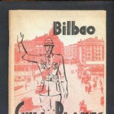 Folletos de turismo: BILBAO-BILBO. *GUÍA Y PLANOS DE BILBAO Y VIZCAYA 1962* 72 PAGS. 2 MAPAS. MEDS: 118 X 168 MMS.. Lote 46529765
