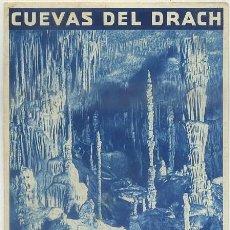 Brochures de tourisme: OLLETO TURISTICO CUEVAS DEL DRACH. MALLORCA A-FOTUR-0458. Lote 46569632