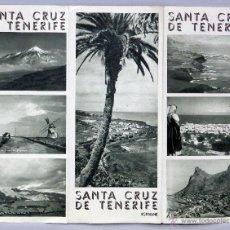 Folletos de turismo: SANTA CRUZ DE TENERIFE FOLLETO TURISMO PATRONATO NACIONAL TURISMO AÑOS 40. Lote 46766293