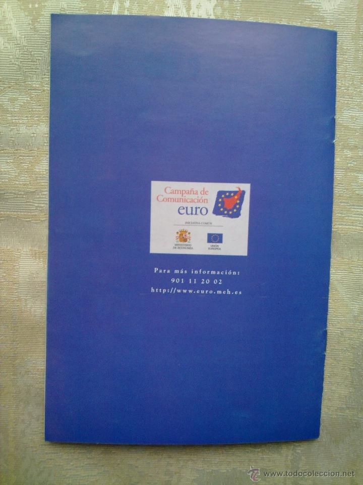 Folletos de turismo: Vendo Cuaderno para llevar las cuentas en Euros del Año 1999. (Más fotos en el interior). - Foto 3 - 196544982
