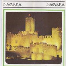 Folletos de turismo: NAVARRA, EN ALEMÁN. Lote 46993372