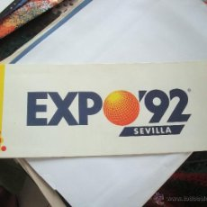 Folletos de turismo: GUÍA FOLLETO PROGRAMA EN INGLES EXPO 92 SEVILLA. Lote 47010480
