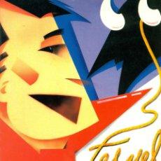 Folletos de turismo: TERUEL PROGRAMA FIESTAS DEL ANGEL 1993. Lote 47044908