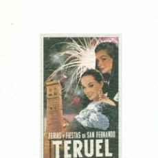 Folletos de turismo: TERUEL PROGRAMA FIESTAS DEL ANGEL 2000. Lote 47045524