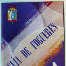Folletos de turismo: GUIA DE FOGUERES 2011-HOGUERAS DE ALICANTE. Lote 47182460