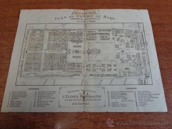 Folletos de turismo: ANTIGUO DÍPTICO PUBLICITARIO DE LA CERVECERA HEINEKEN PARA LA EXPOSICION UNIVERSAL DE PARIS DE 1889. - Foto 3 - 47317382
