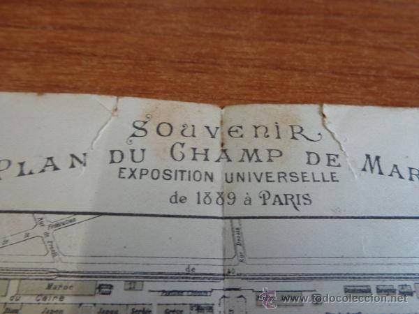 Folletos de turismo: ANTIGUO DÍPTICO PUBLICITARIO DE LA CERVECERA HEINEKEN PARA LA EXPOSICION UNIVERSAL DE PARIS DE 1889. - Foto 4 - 47317382