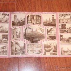 Folletos de turismo: BARCELONA, EXPOSICIÓN INTERNACIONAL 1929. PUBLICDAD, DESPLEGABLE, CON IMÁGENES DE LA ÉPOCA. . Lote 47333308