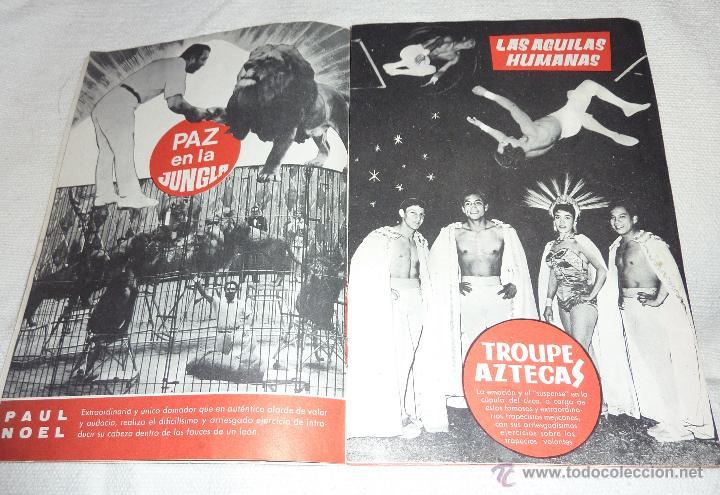 Folletos de turismo: Folleto programa Fiestas de la Merce . Festival mundial del circo . Charlie Rivel 1969 Charlivels - Foto 2 - 47417835