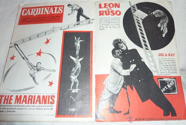 Folletos de turismo: Folleto programa Fiestas de la Merce . Festival mundial del circo . Charlie Rivel 1969 Charlivels - Foto 3 - 47417835