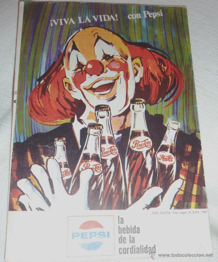 Folletos de turismo: Folleto programa Fiestas de la Merce . Festival mundial del circo . Charlie Rivel 1969 Charlivels - Foto 5 - 47417835