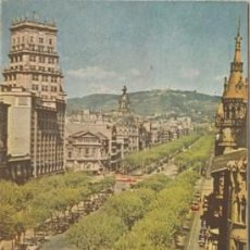 Folletos de turismo: BARCELONA - PLANO GUIA - AÑO 1957 - ED. JUNTA PROVINCIAL DEL TURISMO - DESPLEGABLE - . Lote 47497488