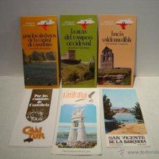 Folletos de turismo: FOLLETO TURISMO CANTABRIA - LOTE DE SEIS. Lote 47627130
