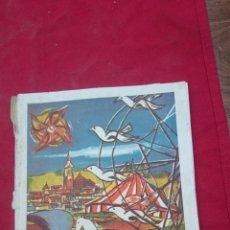 Folletos de turismo: PROGRAMA LIBRO DE FERIA Y FIESTAS DE MANZANARES, CIUDAD REAL AÑO 1959. Lote 47851057