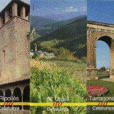Folletos de turismo: LOTE DE 3 FOLLETOS DE CATALUNYA, AÑOS 80. Lote 47862727