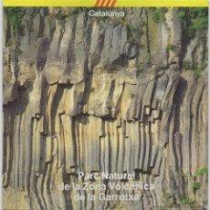 Folletos de turismo: PARC NATURAL DE LA ZONA VOLCÁNICA DE LA GARROTXA, AÑOS 80. Lote 47863360