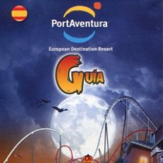Folletos de turismo: FOLLETO GUIA MAPA, PARQUE TEMATICO PORT AVENTURA, HALLOWEEN 2014. Lote 47878691