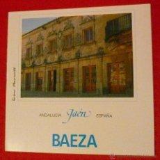 Folletos de turismo: BAEZA, AÑOS 80. Lote 47940440