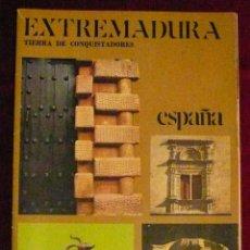 Folletos de turismo: EXTREMADURA, AÑOS 70. Lote 47940546