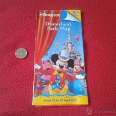 Folletos de turismo: FOLLETO GUIA MAPA DISNEYLAND PARIS EURODISNEY FRANCIA 2001 ESCASO. IDEAL COLECCIONISTAS VER DESCRIPC. Lote 47987825