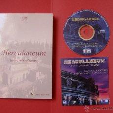 Folletos de turismo: MANUAL + CD-ROM: HERCULANEUM (T&M, 2001) ITALIA. ARQUEOLOGÍA ¡ORIGINAL! DESCATALOGADO. Lote 48222604