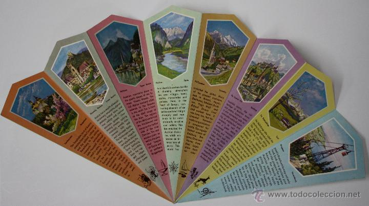 Folletos de turismo: FOLLETO TURISMO AUSTRIA TROQUELADO EN FORMA DE ABANICO. AÑOS 50 - Foto 2 - 48420882