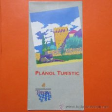 Folletos de turismo: FOLLETO TARRAGONA 1992 PLANO DESPLEGABLE. Lote 48523146