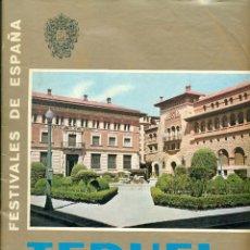 Folletos de turismo: TERUEL FIESTAS DEL ANGEL 1967. Lote 49167272