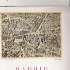 Folletos de turismo: MADRID - CENTRO DE INICIATIVAS Y TURISMO - XXX CONGRESO DE LA U.I.T.P. - AÑO 1953. Lote 49548537