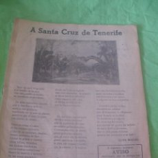 Folletos de turismo: ANTIGUA REVISTA TURISMO.A SANTA CRUZ DE TENERIFE,SEVILLA.. Lote 49594730