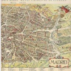 Folletos de turismo: MADRID - FOLLETO - SUBSECRETARIA DE TURISMO - AÑO 1967 - 22 X 20 CM.. Lote 49640326