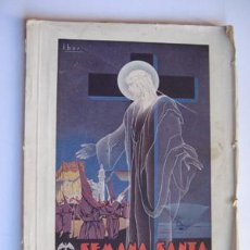 Folletos de turismo: SEMANA SANTA, VALENCIA 1947. DISTRITO MARÍTIMO. Lote 129581411