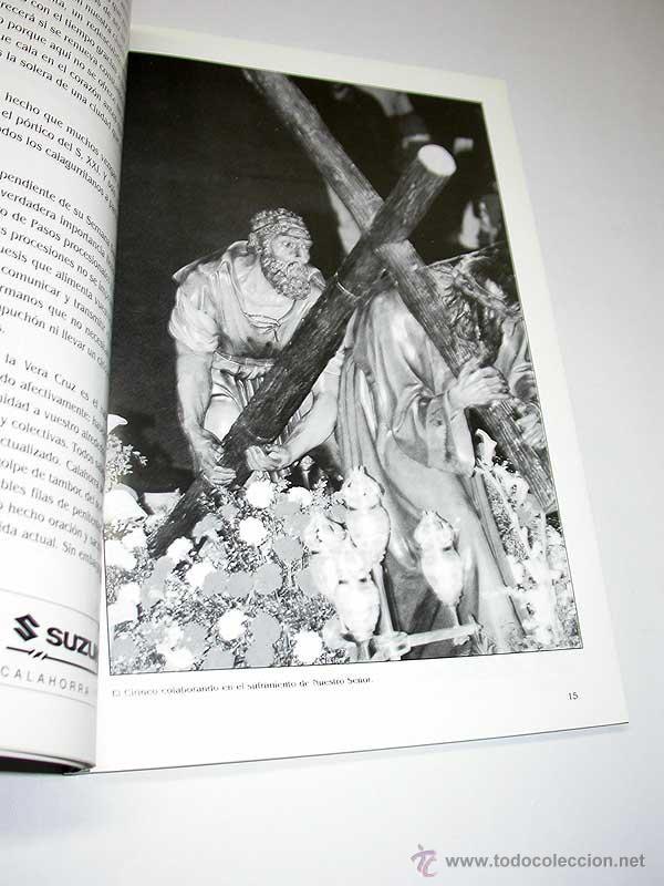 Folletos de turismo: SEMANA SANTA CALAGURRITANA, 1999. Programa Oficial de la Cofradía de la Sta. Vera Cruz. CALAHORRA. - Foto 3 - 50116841