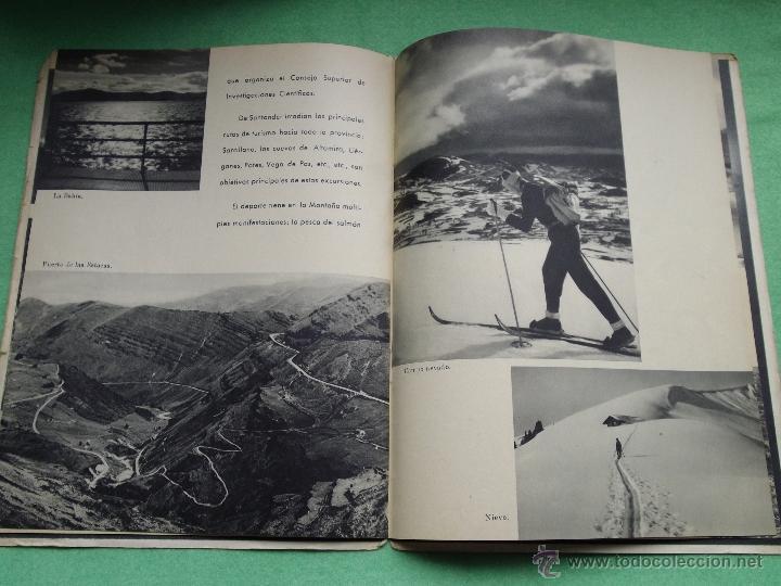 Folletos de turismo: Precioso folleto Santander y su provincia original años 30-40 publicidad turismo Cantabria Altamira - Foto 5 - 50269524
