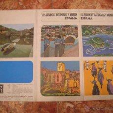Folletos de turismo: LAS PROVINCIAS VASCONGADAS Y NAVARRA - LIBRETO TURISMO - IMPECABLE - AÑOS 70. Lote 50436672