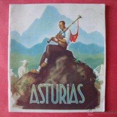 Folletos de turismo: ASTURIAS.-GUIA TURISTICA.-DIRECCION GENERAL DE TURISMO.-DIBUJOS DE MORELL.-HUECOGRABADO ARTE-BILBAO.. Lote 50471141