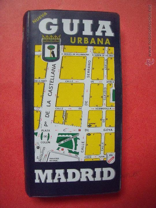 MADRID.-NUEVA GUIA URBANA.-GUIA URBANA DE MADRID.-AÑO 2002. (Coleccionismo - Folletos de Turismo)