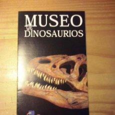 Folletos de turismo: FOLLETO MUSEO DE DINOSAURIOS-SALAS DE LOS INFANTES-BURGOS-ARQUEOLOGIA PALEONTOLOGIA. Lote 51014879