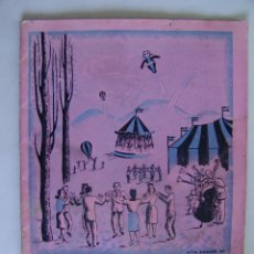 Folletos de turismo: PROGRAMA DE FIESTA MAYOR CASTELLO DE AMPURIAS 1950. Lote 51023412