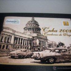 Folletos de turismo: CUBA 2008 CUADERNO DE VIAJE RENAULT. Lote 51079397