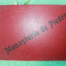 Folletos de turismo: ÁLBUM DEL MONASTERIO DE PIEDRA, TIPOGRAFÍA DE FIDEL GIRO, MANUEL RAMOS Y COBOS, J. LAVALL. Lote 57674701