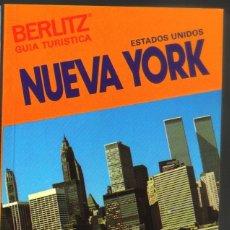 NUEVA YORK - GUIA TURISTICA BERLIZ - 128 PAGINAS - 14,5 X 10,5 - NUEVA