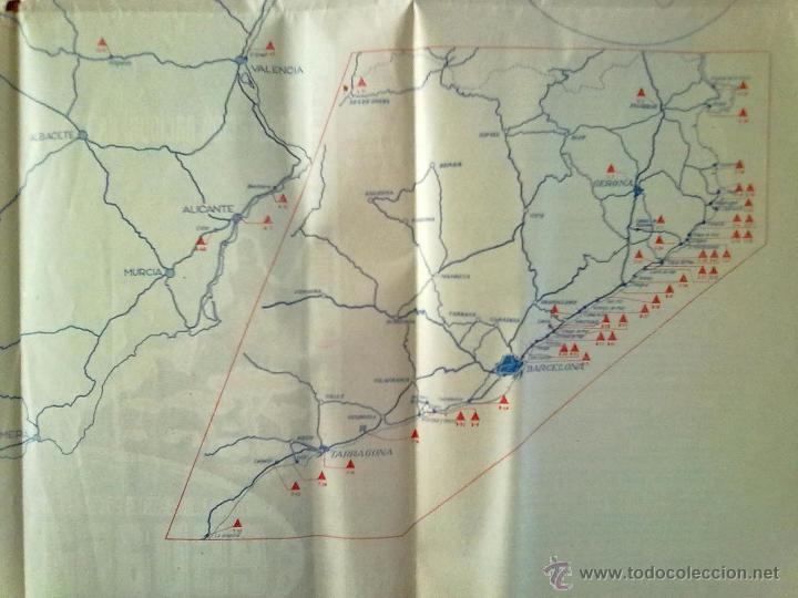 Folletos de turismo: MAPA CAMPISTA DE ESPAÑA 1958 - Foto 3 - 51850332